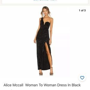 Alice McCall Woman To Woman Dress In Black